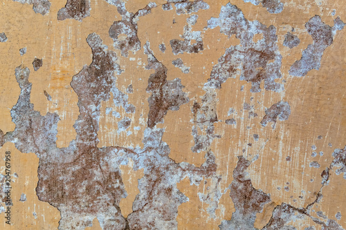 Plexiglas Betonbehang Paint crack concrete wall texture background. Material construction. Architectural detail.