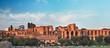 Quadro Rome, Domus Severiana and Temple of Apollo Palatine seen from the Circus Maximus