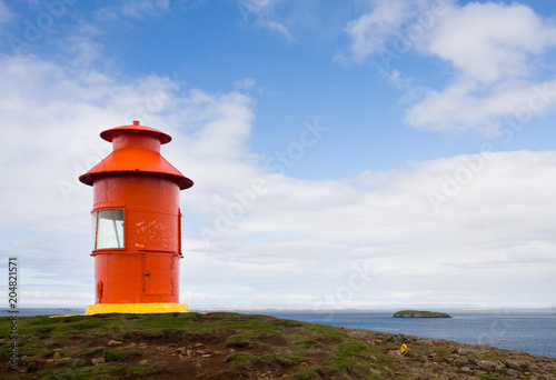 Little Red Lighthouse, Iceland