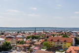 a panoramic view from the water tower in Drobeta Turnu Severin