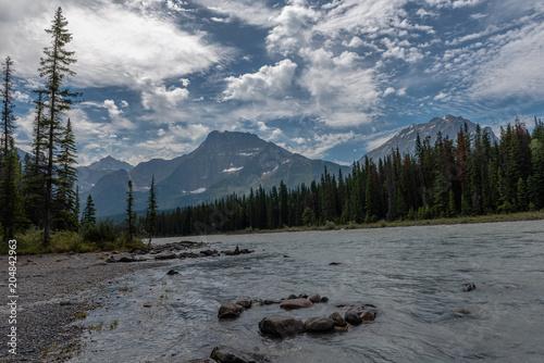 Aluminium Bergrivier Canada national park