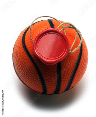 Plexiglas Basketbal 204845799