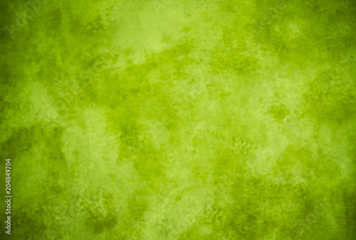 Lime green painterly background texture