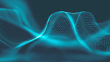 Music abstract background blue. Equalizer for music, showing sound waves with music waves, music background equalizer  concept. - 204868164
