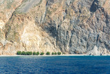 Glyka Nera beach (meaning Sweet Water beach) near Sfakia, Crete in Greece - 204878304