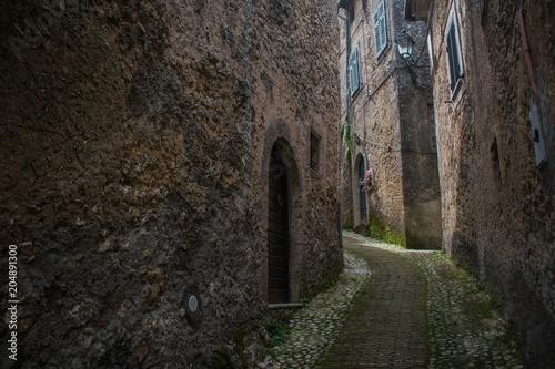 Fototapeta Paesino medievale
