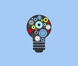 Gears in a lightbulb - 204901362