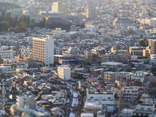 Plexiglas Tokio 東京の風景