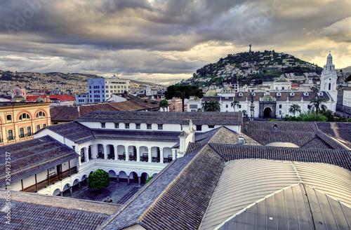Poster Quito, Ecuador