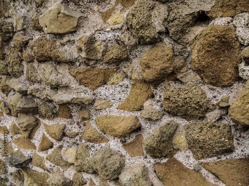 Fotobehang Stenen muro antico