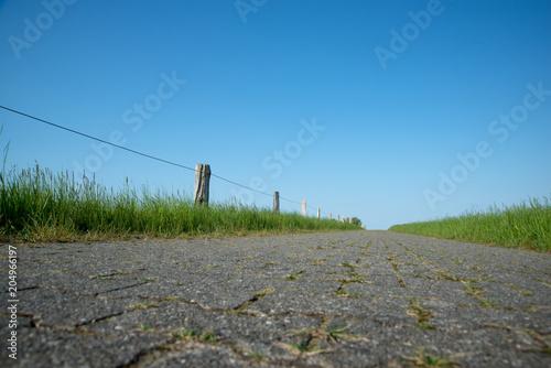 Plexiglas Noordzee Wanderweg auf der Nordseeinsel Langeeoog
