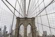 Brooklyn Bridge standing