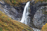 Buldrefossen Waterfall