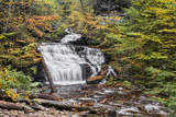 Autumn at Mohican Falls - Ricketts Glen, Pennsylvania