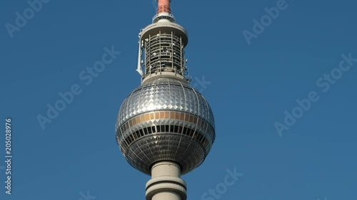 Television tower / Tv Tower (Fernsehturm) in Berlin