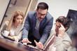 Portrait of successful creative business team - 205029701