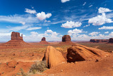 Monument Valley during summer