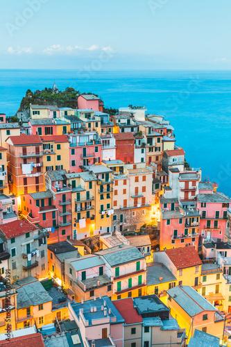 Manarola Village, Cinque Terre Coast of Italy