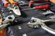 Set of metalwork tools