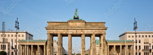 Fotobehang Berlijn Brandenburg gate, Berlin, Germany