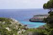 Calanque sur l'île de Minorque aux Baléares, Espagne