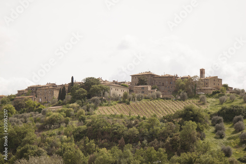 Fotobehang Landschappen Castelnuovo dell'Abate Montalcino Siena Italia