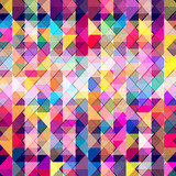 Abstract colorful geometric background. - 205095176