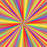 Abstract celebration background with colorful dotted lines. - 205098157