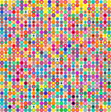 Colorful dots, circles abstract pattern background. Vector illustration. - 205099516