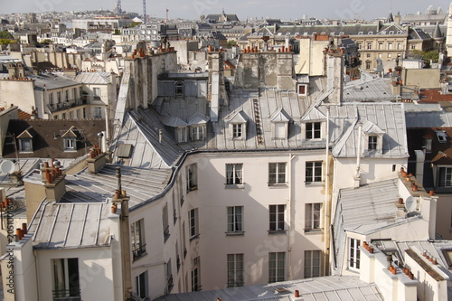 Fridge magnet Paris - Panorama