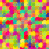 Colorful dots, circles abstract pattern background. Vector illustration. - 205100361