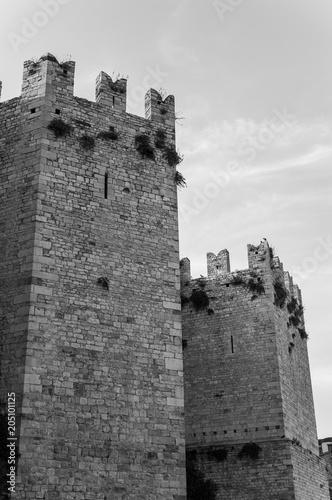 Fotobehang Toscane Prato, Castello dell'Imperatore