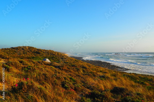 Plexiglas Blauw Portugal Atlantik Küste