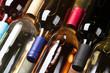 Quadro Red, rose and white wine bottles