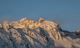 snowy peaks