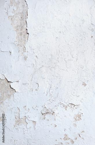 Plexiglas Konrad B. Stained, ragged wall - vintage building