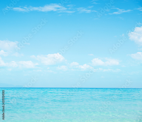 Fotobehang Konrad B. Beautiful nautical landscape - asian paradise