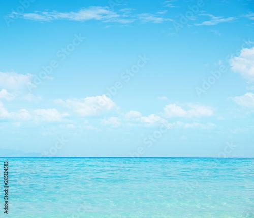 Plexiglas Konrad B. Beautiful nautical landscape - asian paradise