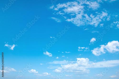 Plexiglas Konrad B. Beautiful view of a summer, cloudy sky