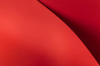 Quadro bright red abstract blank paper background