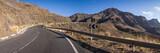 Straße durch die Berge auf der Kanarischen Insel Gran Canaria