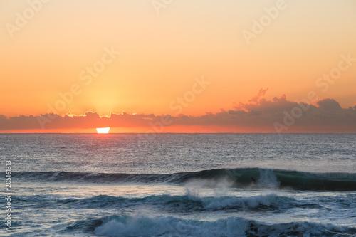 Plexiglas Beige Sunrise, Central Coast, Australia