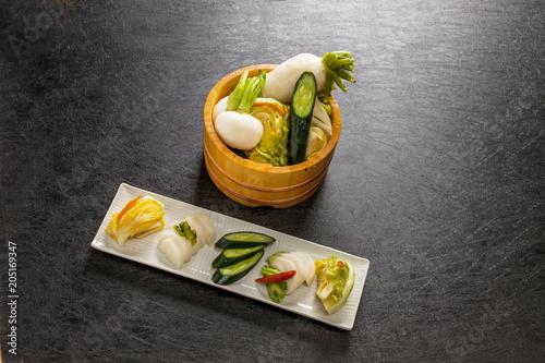 Plexiglas Kyoto 日本の手作りつけもの Japan of homemade pickles