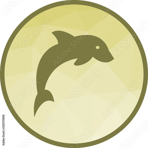 Fototapeta Dolphin, fish, jump