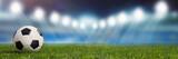 Fototapeta Sport - Panorama Hintergrund mit Fußball Stadion © Robert Kneschke