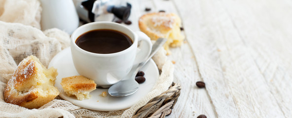 Italian coffee set for breakfast © katrinshine