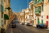 Colorful street in Malta