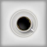 Coffee time. Vector illustration