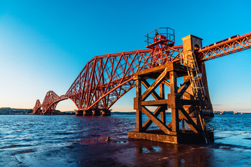 Queensferry Slipway Marker and Bridge 2