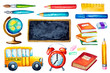 Back to school design elements